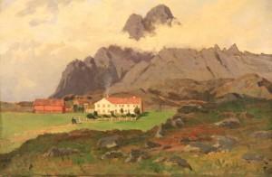 Maleri av Fredrik Borgen
