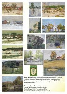 Salgsplakat Kunstkort