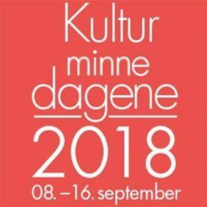 Kulturminnedagene 2018